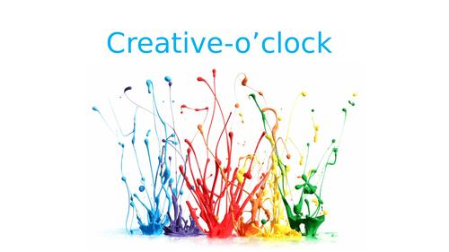 Creative O'clock (Part 3 & 4)