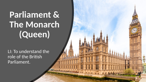 KS2: Parliament & The Monarch