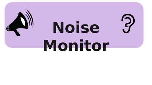 Noise Monitor - Pastel