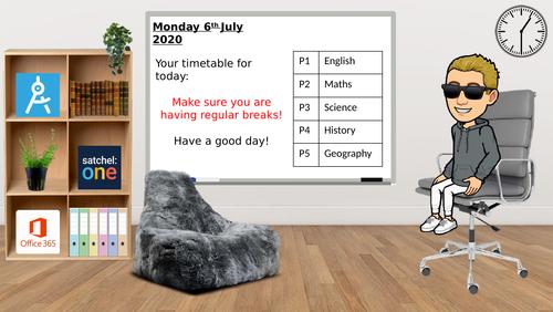 Bitmoji Online Classroom