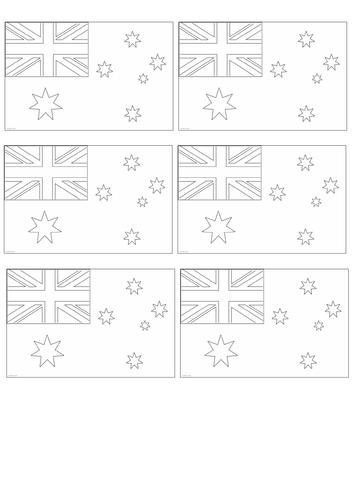 Australian Themed Booklet