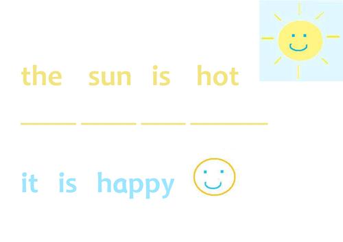 Sunshine Phonics Sheet