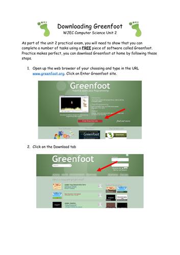 Helpguide - Downloading Greenfoot