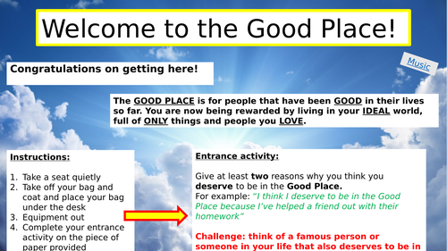 What does it mean to be 'good'?
