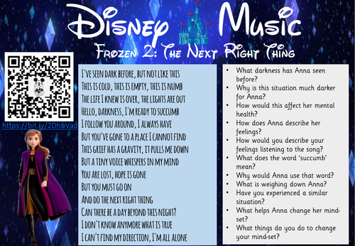 Disney Music Comprehension part 3