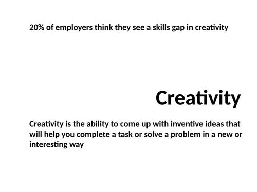 Creativity Lesson