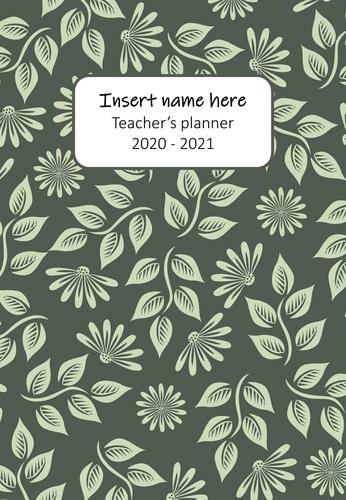 Teacher´s planner 2020/2021