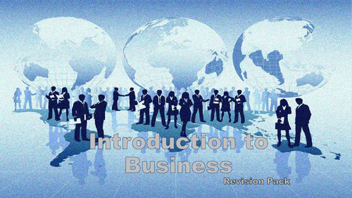 Introduction to Business Revision (OCR)