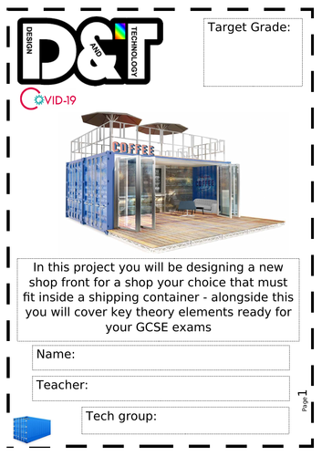 COVID 19 DT project- Container project