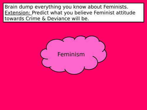 AQA Crime & Deviance- Feminism (7/17)