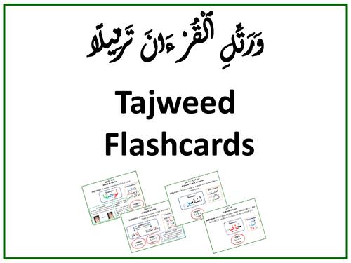 Tajweed Flashcards