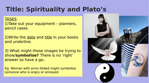 Spirituality, Philosophy and Plato's Cave
