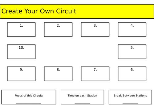 Circuit Training Resource