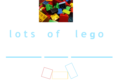 Phonics with Lego