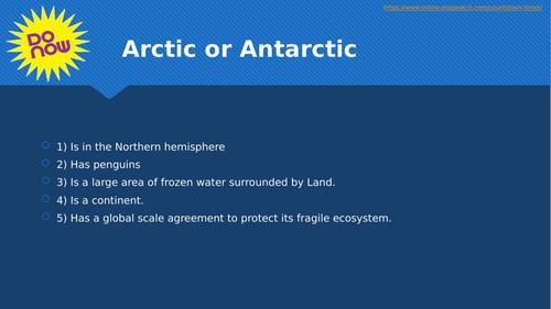 The Arctic Council and Antarctica Treaty (OCR GCSE)