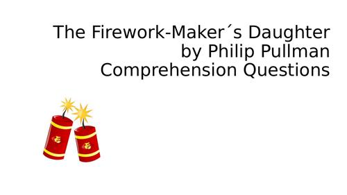 The Firework Maker´s Daughter Comprehension