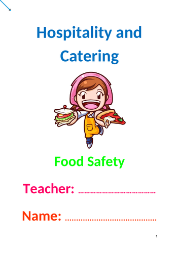 Hospitality and Catering - Food Safety