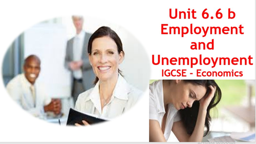 Employment and Unemployment: Changing Patterns and Consequences of Unemployment