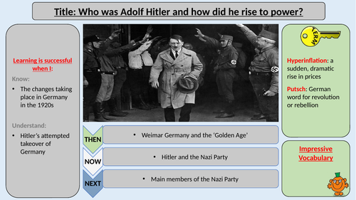 The Rise of Hitler and the Nazi Party