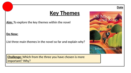 Of Mice and Men: Key Themes