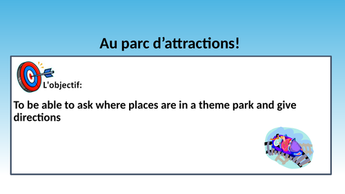 Studio 1 4.2 Au parc d'attractions