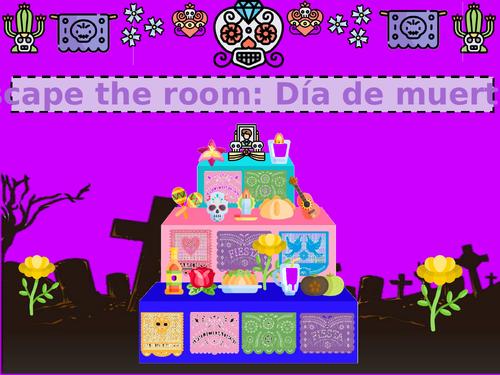 Escape the room, Día de muertos