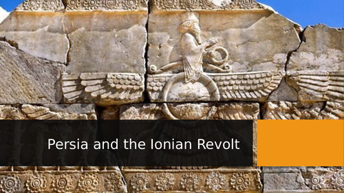 Ancient Persia and the Ionian Revolt