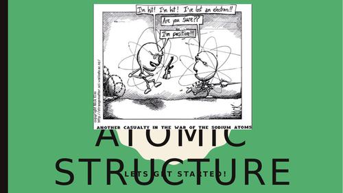 IB CHEMISTRY C2: ATOMIC STRUCTURE