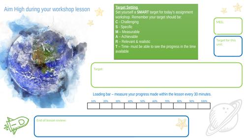 CSMART Target setting worksheet