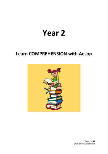 Year 2 – Learn COMPREHENSION with Aesop