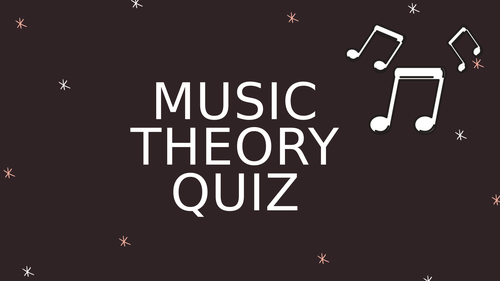 Music Theory Quiz