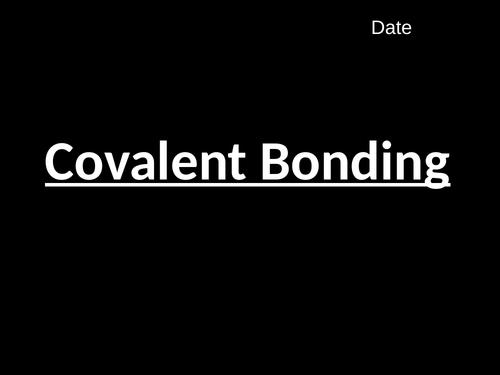 Covalent Bonding (C2.3)