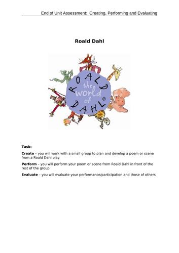 Mini-assessment: Roald Dahl