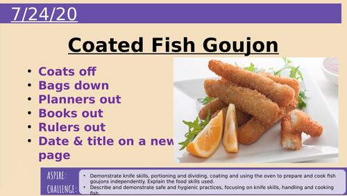 Coated Fish Goujon Practical