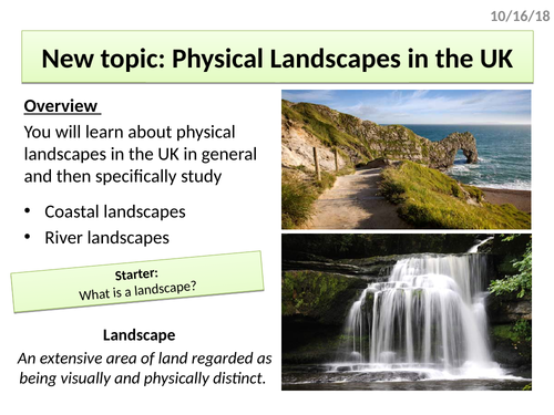 The UK's geology, relief, landscapes & cities (KS4 Physical Landscapes in the UK)