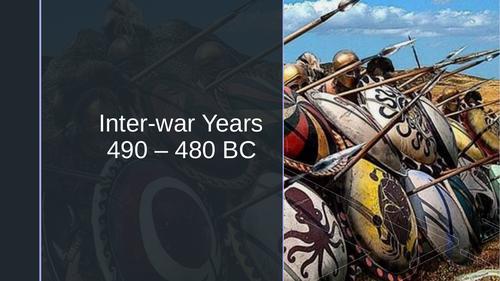 Between the Persian Wars (490 - 480 BC)