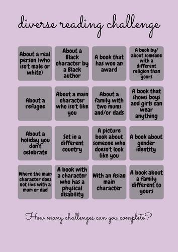Diverse Reading Challenge