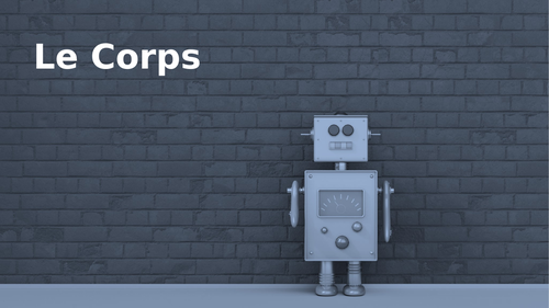 Corps (Body in French) PowerPoint Distance Learning