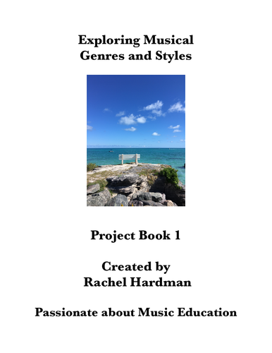 Remote Learning - Musical Genres and Styles Mini-projects Book 1