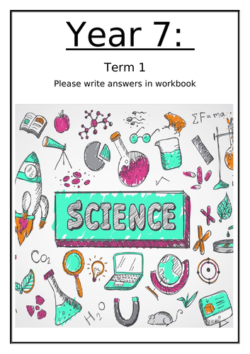 Year 7 Science - Welcome to Science