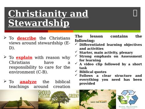 Christianity: Stewardship