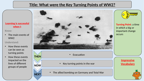 World War Two Turning Points