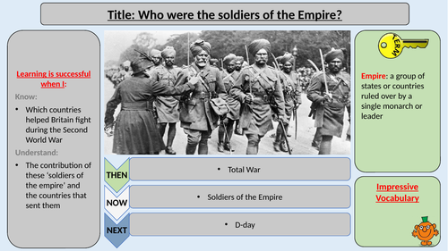 Soldiers of the Empire in World War Two