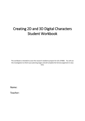 iMedia R083 Characters Student Booklet
