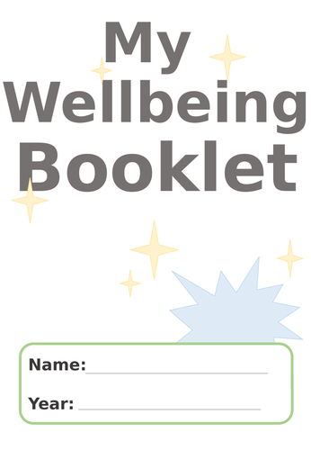 Wellbeing Booklet (Back to School)