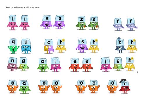 Alphablocks Phase 3 Digraphs