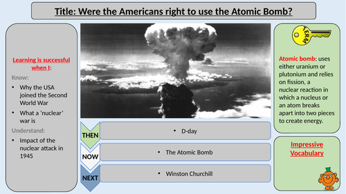 Were the Americans justified to drop the Atomic Bomb?