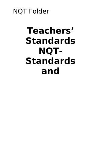 NQT Evidence Folder