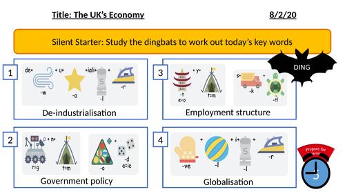 The Changing UK's Economy