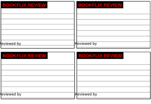 Bookflix Display